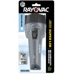 LINTERNA RECARGABLE RAYO VAC SUPER LED-CHI DE 56 LUMENES