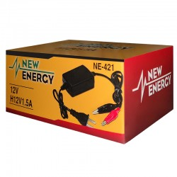 CARGADOR DE BATERIA NEW ENERGY NE-421 12V 1.5A