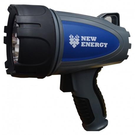 LINTERNA RECARGABLE NEW ENERGY FARO PIRATA V-0210 LED 550 LUMENES