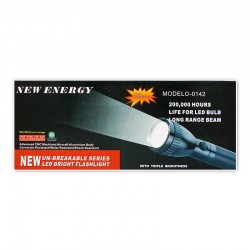 LINTERNA RECARGABLE NEW ENERGY 0142