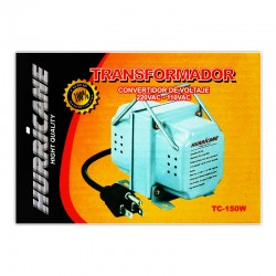 TRANSFORMADOR HURRICANE TC-150 220-110V PLOMA 150W