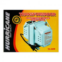 TRANSFORMADOR HURRICANE TC-50 METAL 50W/220-110V