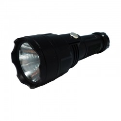 LINTERNA 1 LED A PILAS 2/D HI SHEEN HS-F5